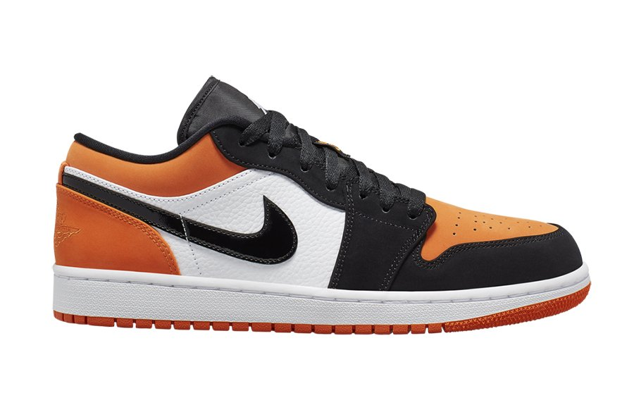 on sale b0b12 bc481 Air Jordan 1 Low Shattered Backboard 553558-128 Release Details
