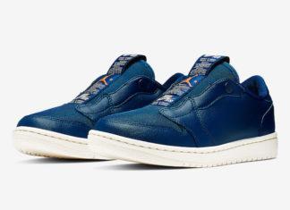 Air Jordan 1 Low Slip Blue Void AV3918-408 Release Date