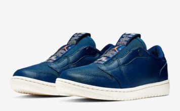 Air Jordan 1 Low Slip Blue Void AV3918-408 Release Date