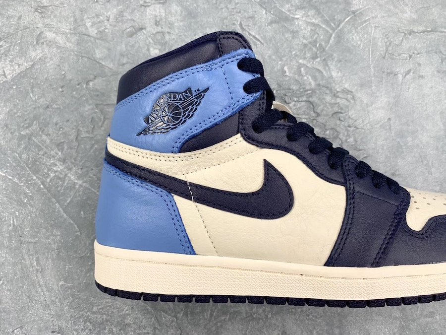 Air Jordan 1 Obsidian University Blue 555088-140 Release ...