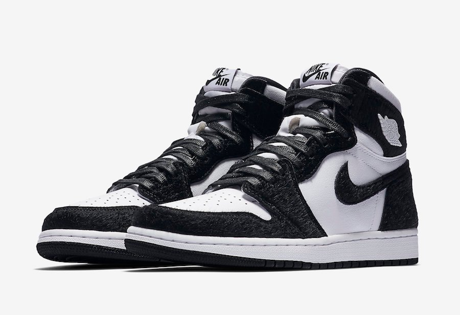 2ee72f40450f Air Jordan 1 Retro High OG Black White Panda 2019 CD0461-007 Release ...