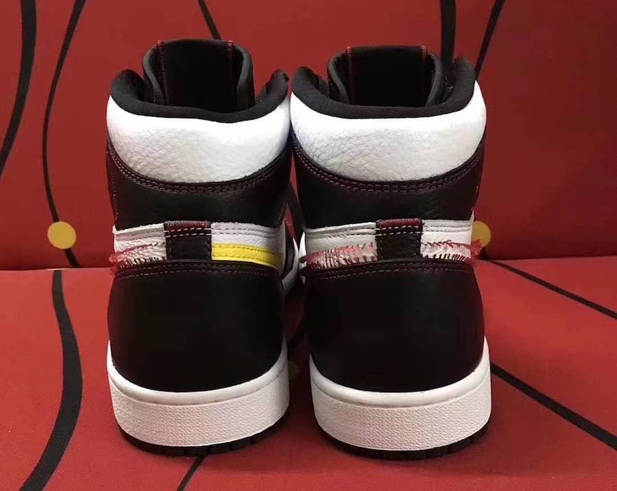Air Jordan 1 Retro High OG White Black Dynamic Yellow University Red 555088-170 Release Info