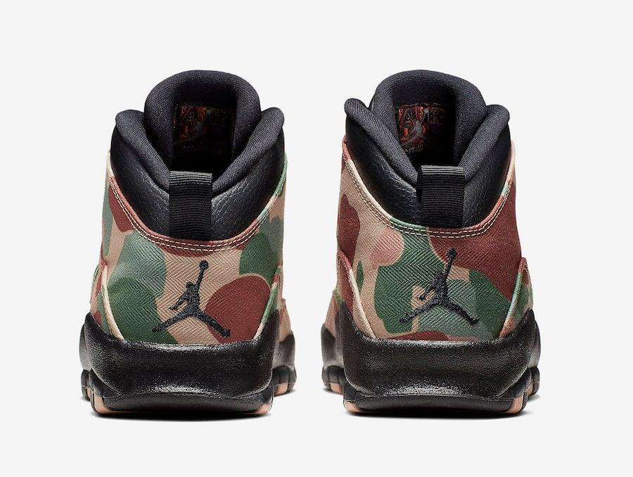 Air Jordan 10 Desert Camo 310805-200 Release Details