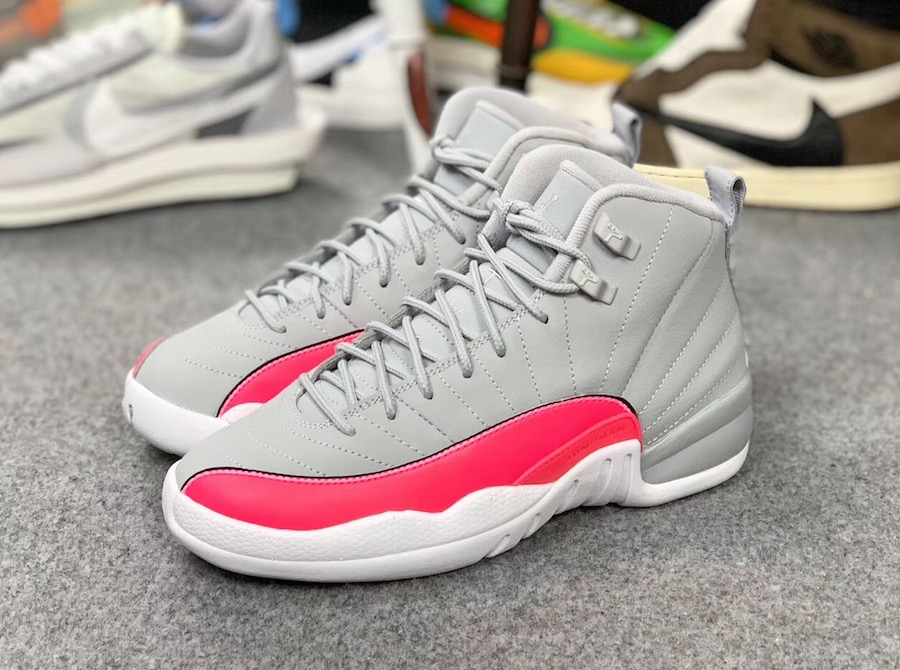 Air Jordan 12 GS Grey Pink 510815-060 Release Details Price