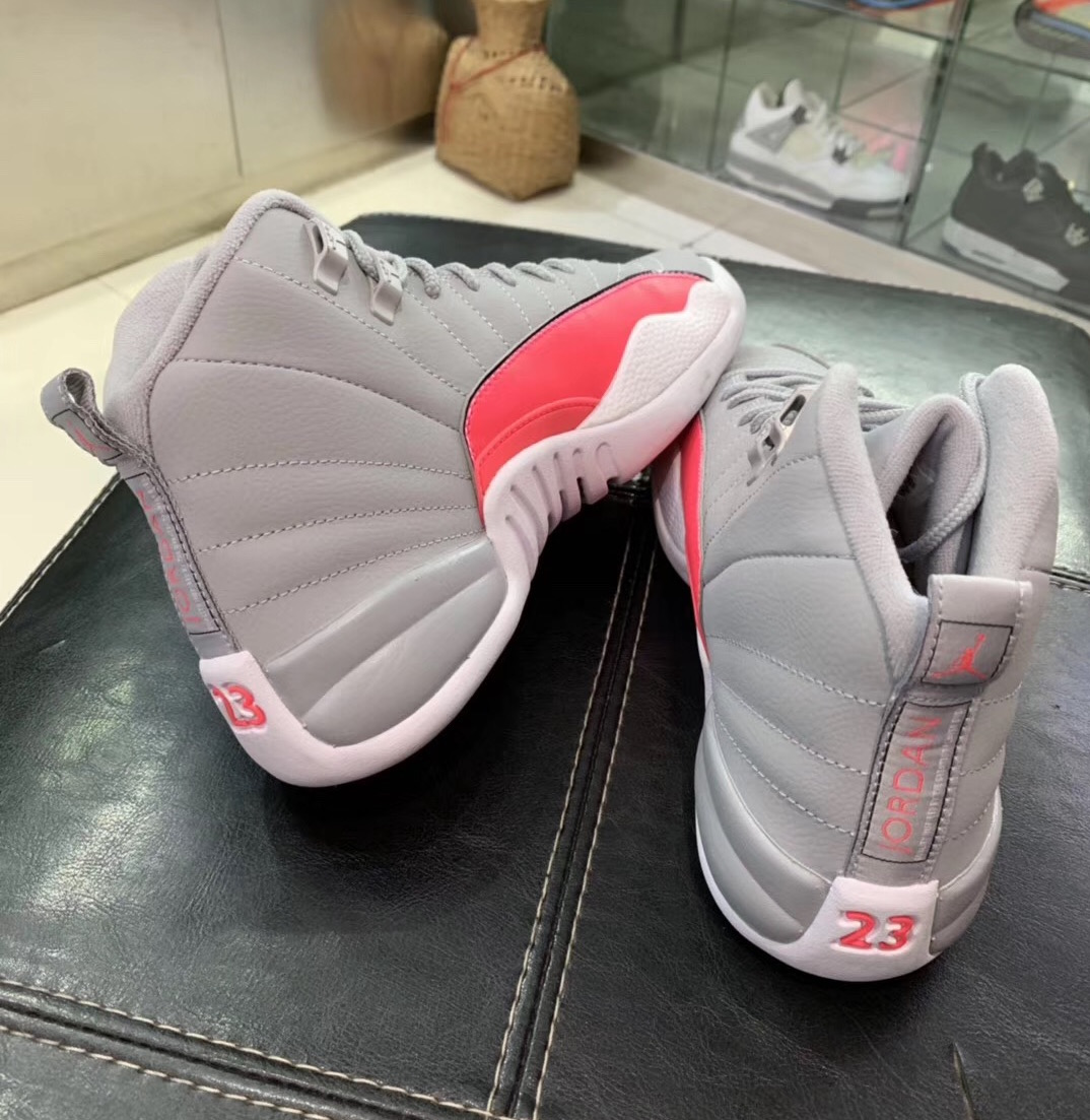 Air Jordan 12 GS Grey Pink 510815-060 Release Info
