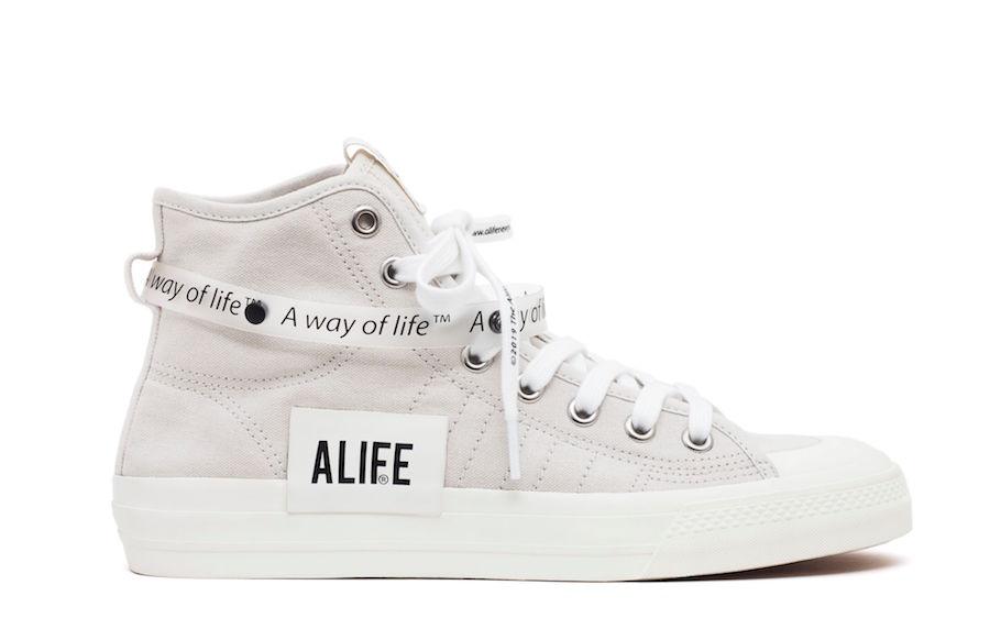 Alife adidas Consortium Nizza Hi G27820 Release Details Price