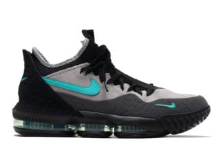 atmos Nike LeBron 16 Low Clear Jade CD9471-003 Release Details