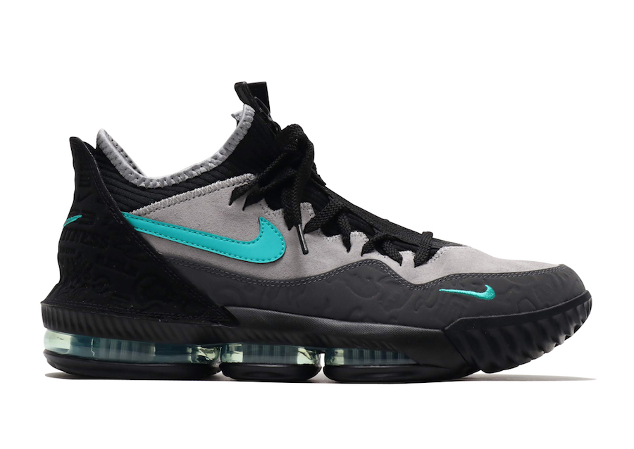 the latest 29561 c4719 atmos Nike LeBron 16 Low Clear Jade CD9471-003 Release Info ...