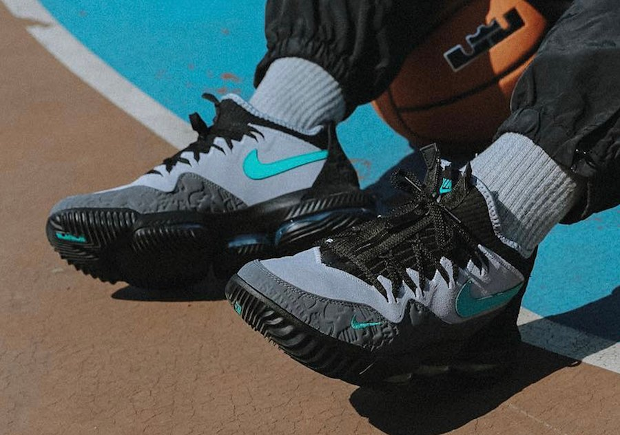 atmos Nike LeBron 16 Low Clear Jade Release Info Price