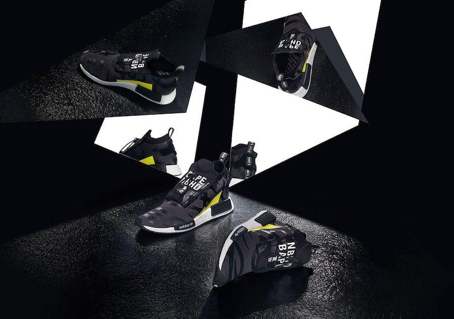 BAPE Neighborhood adidas NMD STLT Pod S3.1 Release Date