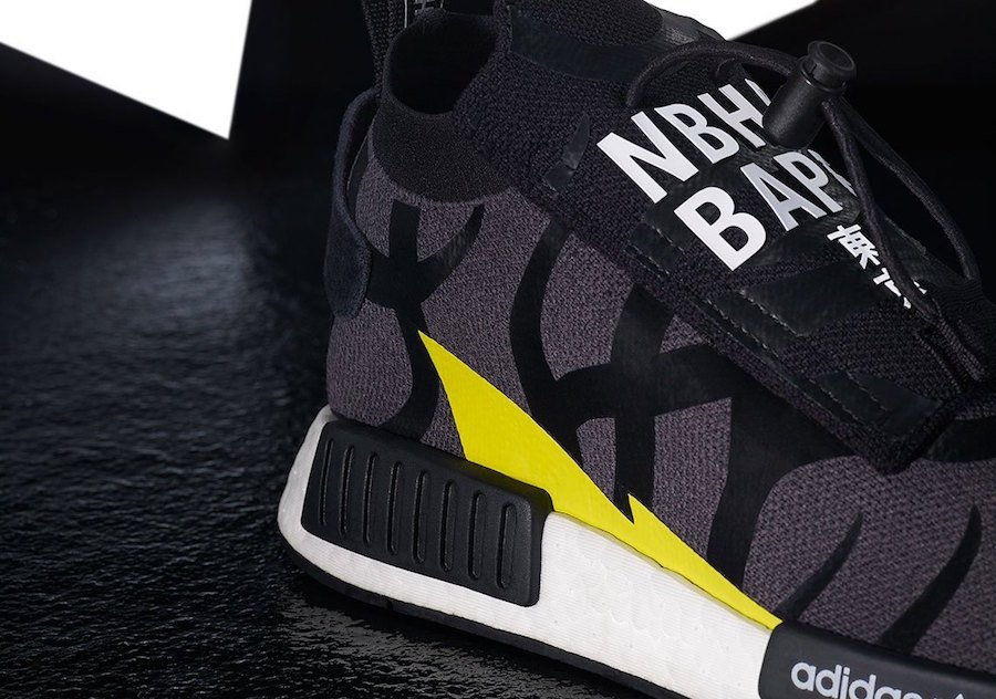 BAPE Neighborhood adidas NMD STLT Pod S3.1 Release Date
