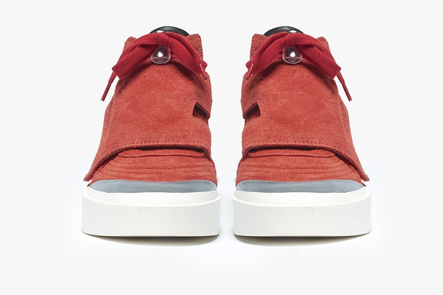 Fear of God Skate Mid Red Suede