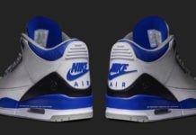 Fragment Air Jordan 3 Sample