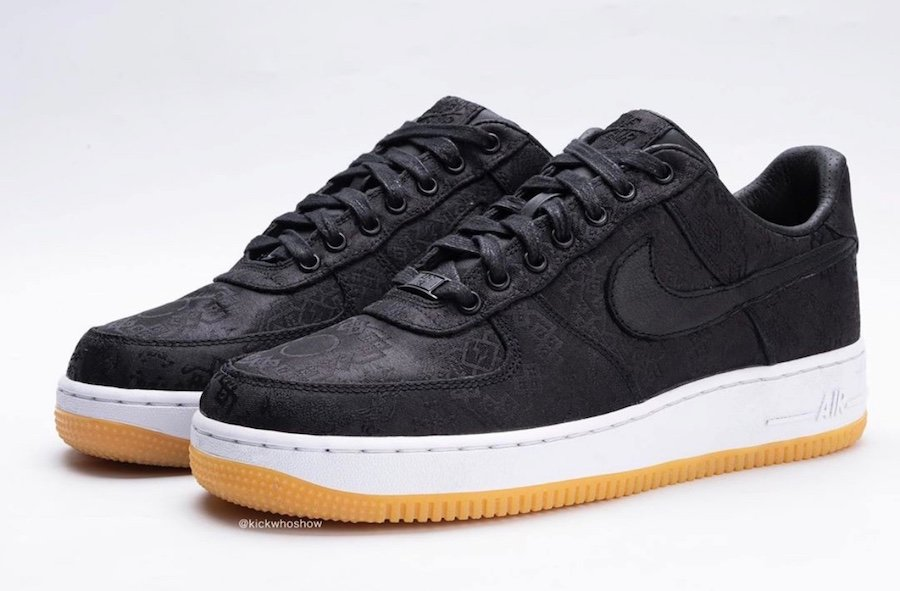Fragment Clot Nike Air Force 1 Premium Black University Red White CZ3986-001 Release Date Info