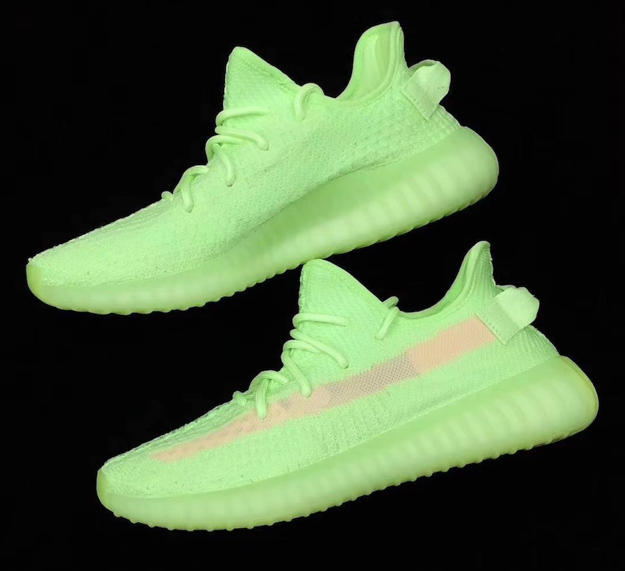 Glow adidas Yeezy Boost 350 V2 EH5360 Release Info