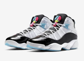 Jordan 6 Rings White Hyper Pink Light Blue Fury CK0017-100 Release Info