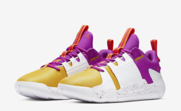 Jordan Zero Gravity Amarillo Yellow Bright Purple AT4030-157 Release Info