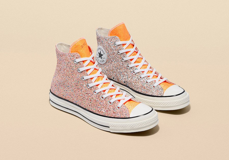 JW Anderson Converse Glitter Gutter Collection Release Info