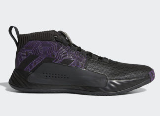 Marvel adidas Dame 5 Black Panther EF2259 Release Info