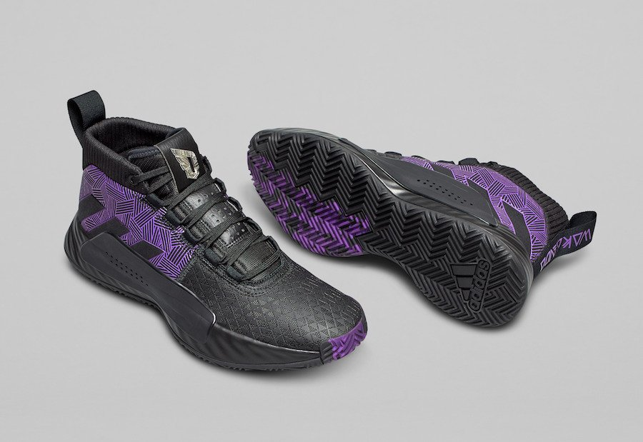 Marvel adidas Dame 5 Black Panther Release Date