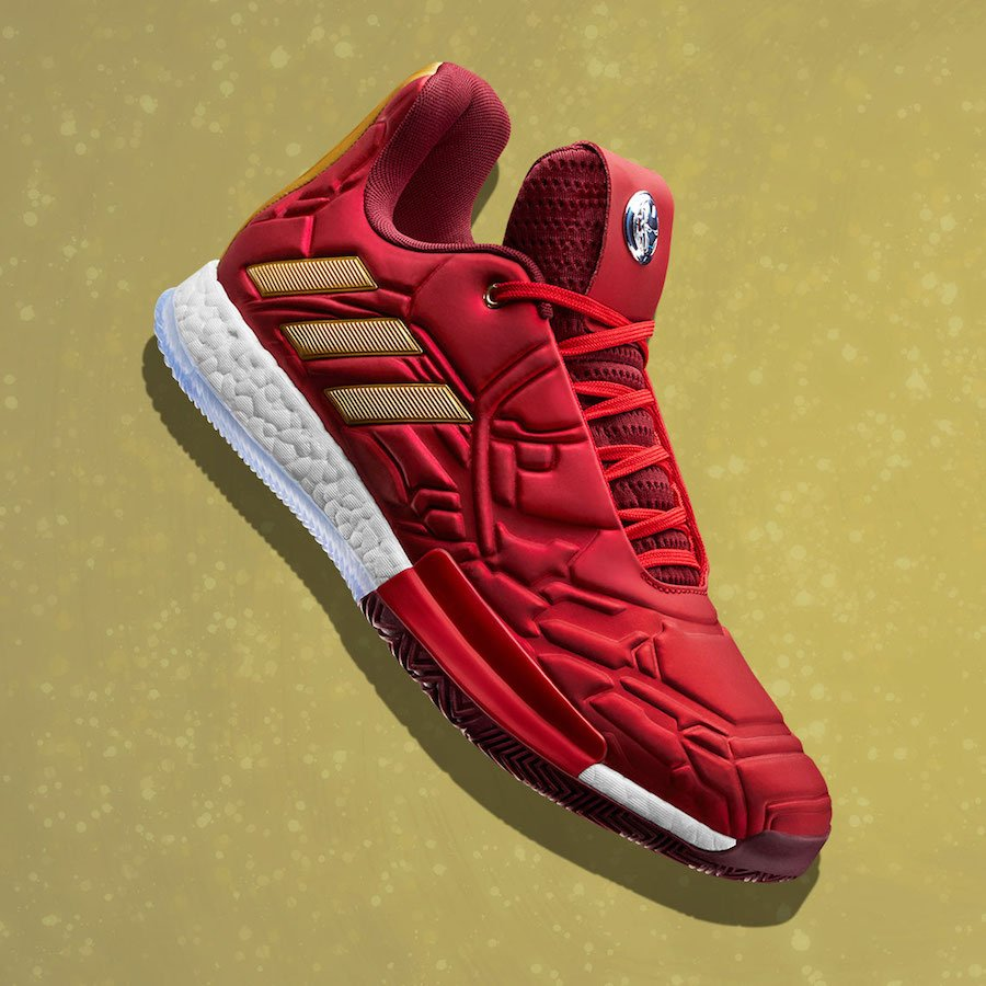 Marvel adidas Harden Vol. 3 Iron Man Release Date