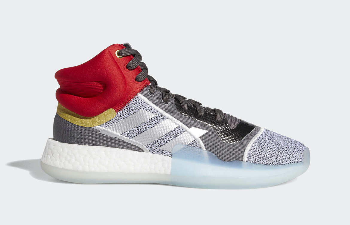 9bd3bfc4138538 Marvel adidas Marquee Boost Thor EF2258 Release Date | SneakerFiles