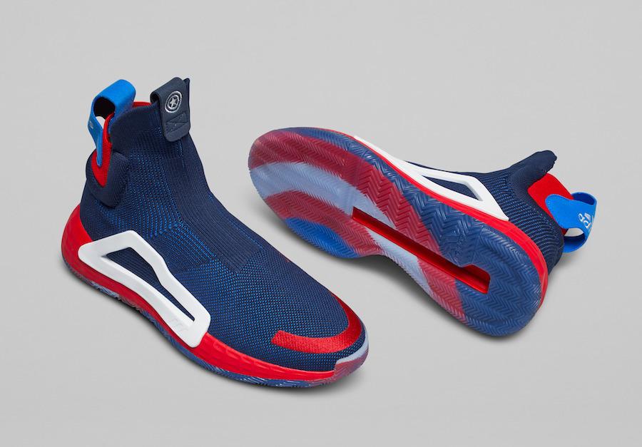 Marvel adidas N3XT L3V3L Captain America Release Date