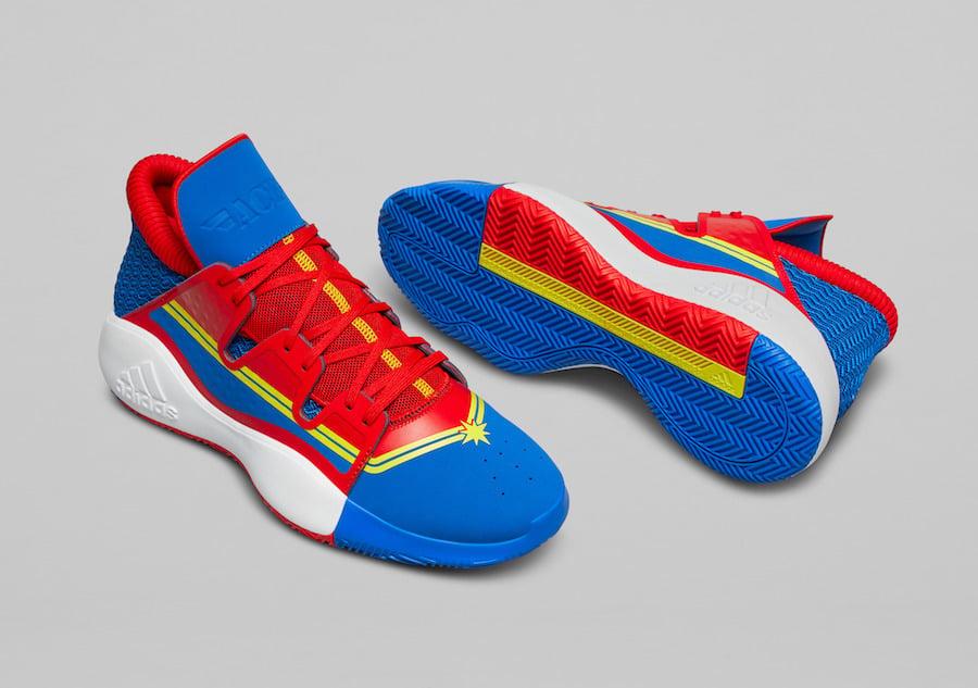 Marvel adidas Pro Vision Captain Marvel Release Date
