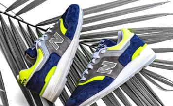 pretty nice 049fa 6e6e5 New Balance 997 Available in Blue and Yellow