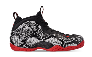 Nike Air Foamposite One Snakeskin 314996-101 Release Update