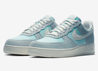 Nike Air Force 1 Ghost Aqua AQ8741-400 Release Date