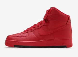 Nike Air Force 1 High University Red AO2440-600 Release Date