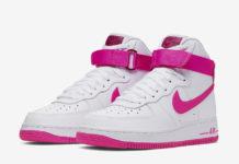 Nike Air Force 1 High White True Berry Laser Fuchsia 334031-110 Release Info