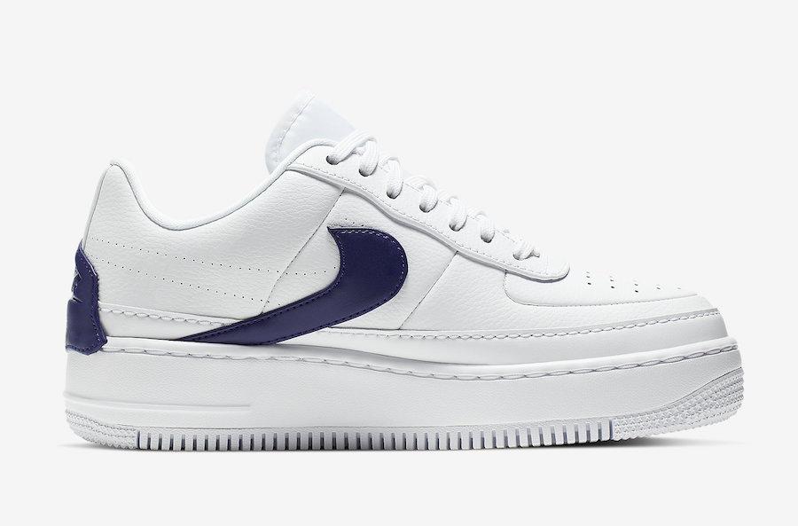 Nike Air Force 1 Jester XX White Regency Purple AO1220-103 Release Info