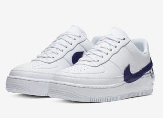 Nike Air Force 1 Jester XX White Regency Purple AO1220-103 Release Info
