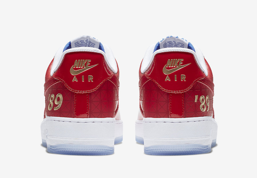 Nike Air Force 1 Low 1989 NBA Finals CI9882-600 Release Date