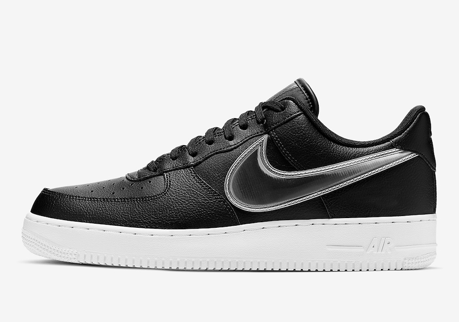 Nike Air Force 1 Low Black White AO2441-003