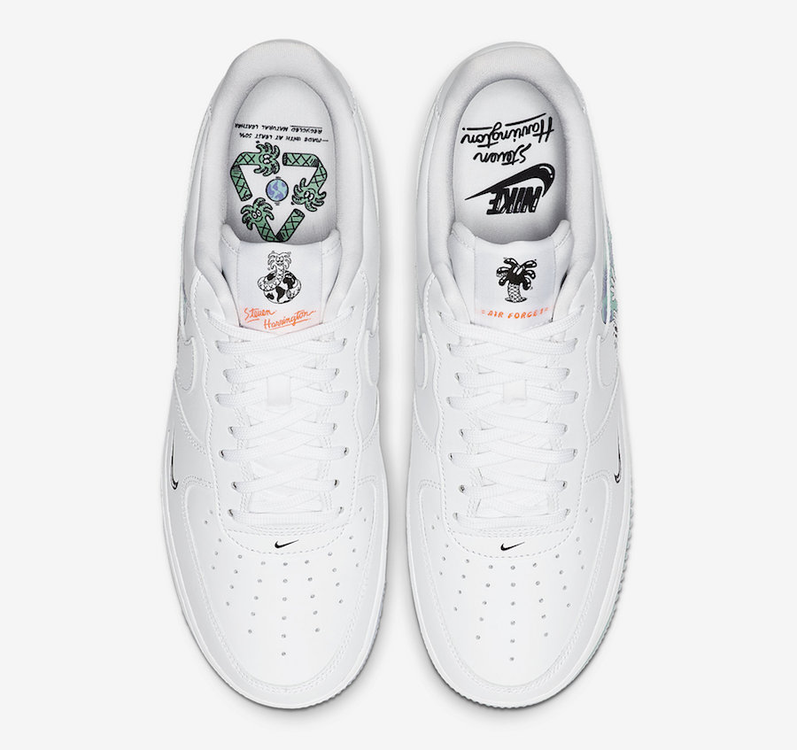 Nike Air Force 1 Low Earth Day CI5545-100 Release Date