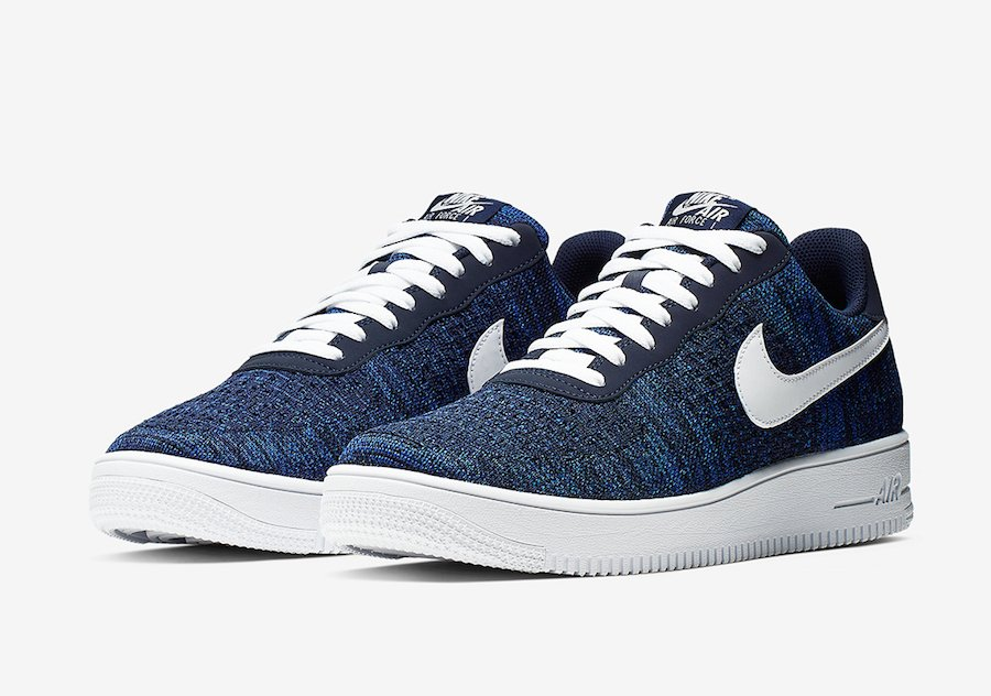 Nike Air Force 1 Low Flyknit College Navy AV3042-400