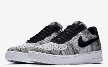 Nike Air Force 1 Low Flyknit Oreo AV3042-001