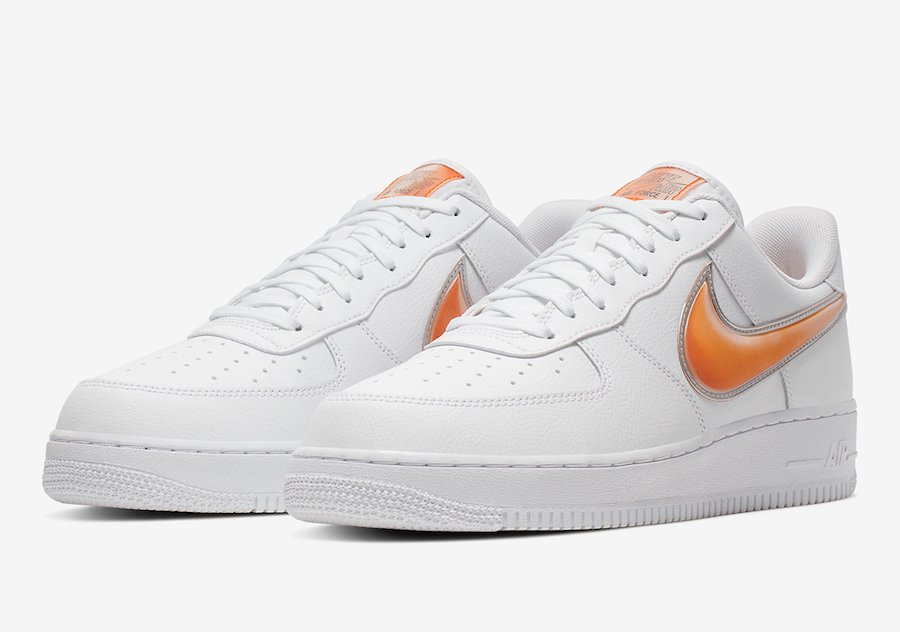 Nike Air Force 1 Low White Orange AO2441-102
