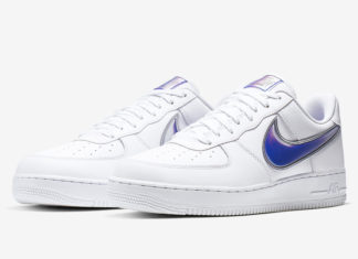 Nike Air Force 1 Low White Purple AO2441-101