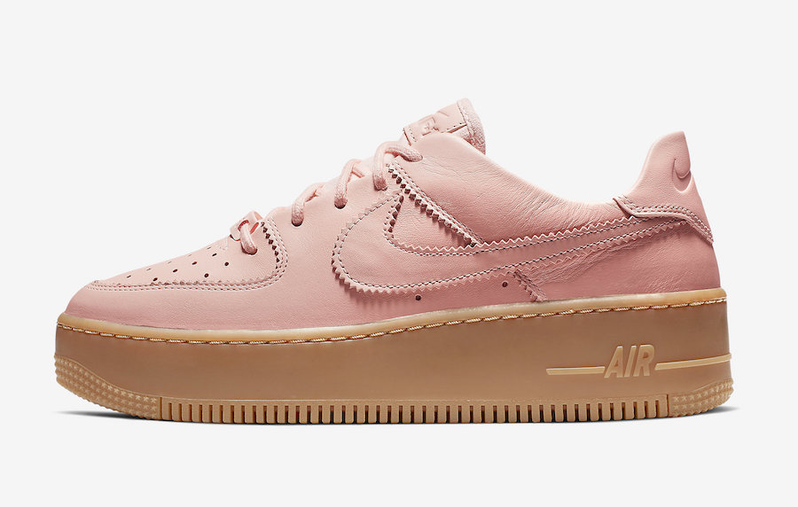 Nike Air Force 1 Sage Low Washed Coral AR5409-600 Release Info