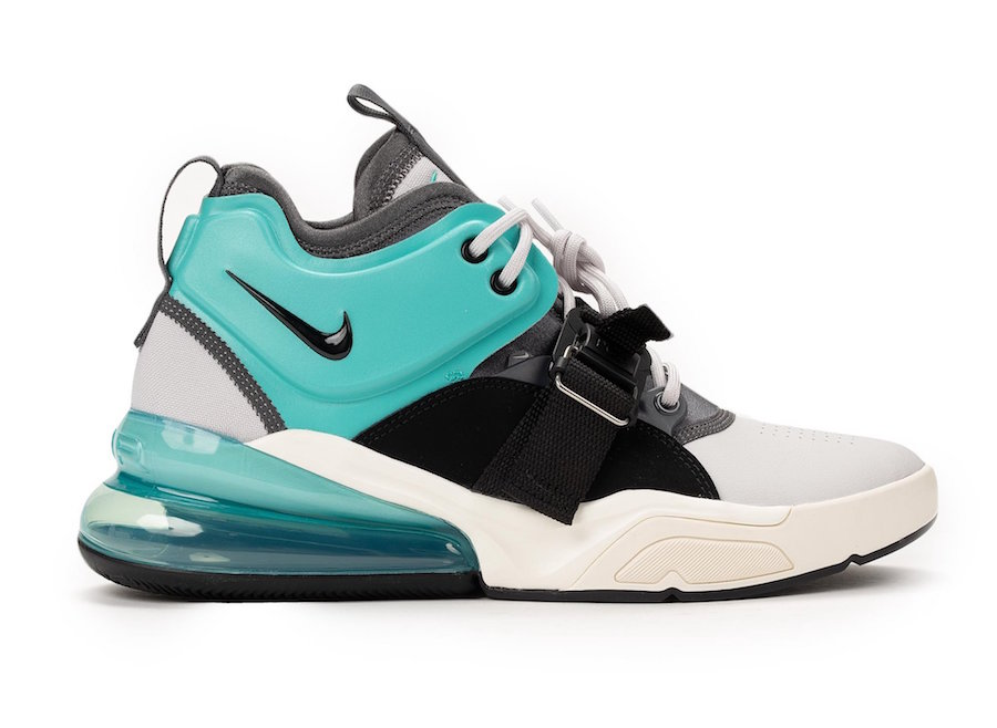 Nike Air Force 270 White University Red AH6772 102 Release