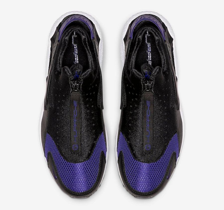Nike Air Huarache Run EXT Zip Black Game Royal CI0009-002 Release Date