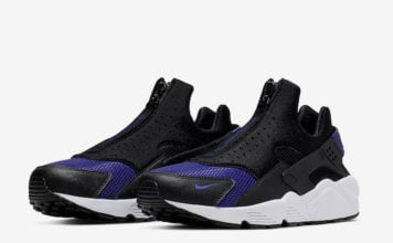 Nike Air Huarache Run EXT Zip Black Game Royal CI0009-002 Release Date