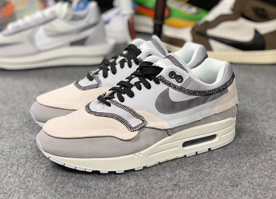 Nike Air Max 1 Inside Out 858876-013 Release Info