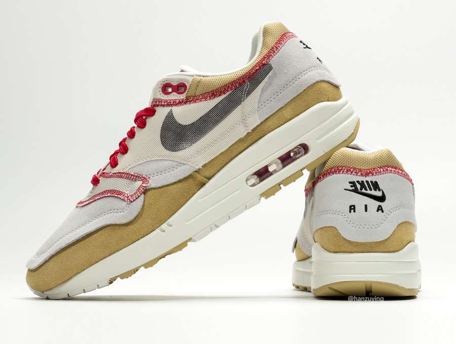 Nike Air Max 1 Inside Out 858876-713 Release Details