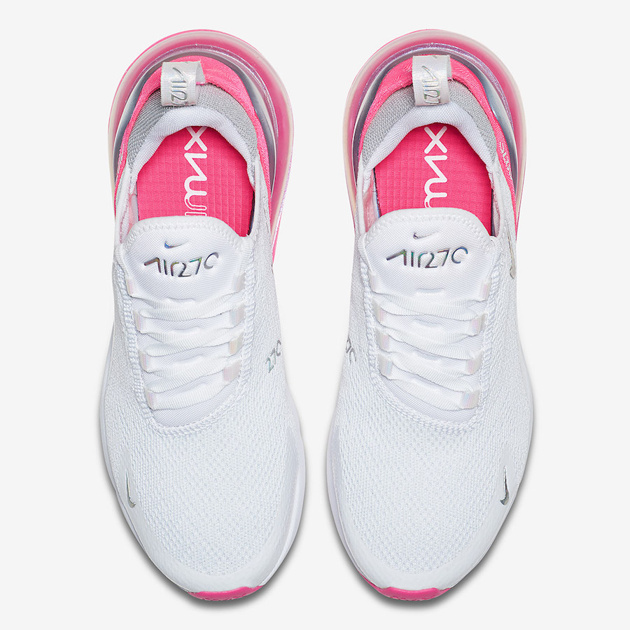 Nike Air Max 270 White Pink Grey CI1963-191 Release Date