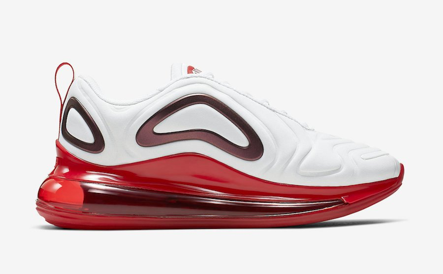 Nike Air Max 720 White Gym Red CD2047-100 Release Date